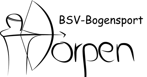 Das Logo der Bogensportabteilung des BSV Dörpens